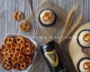Guinness 巧克力纸杯蛋糕的做法 步骤12