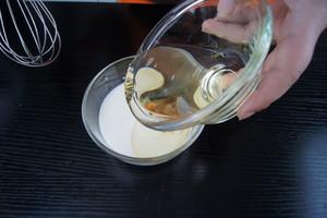 8寸戚风蛋糕(嵌入式烤箱)的做法 步骤3