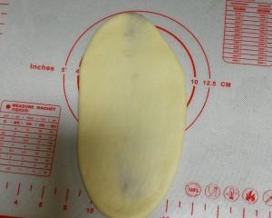 酸奶奶酪豆沙包的做法 步骤3