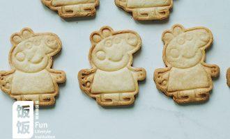 小猪佩奇饼干 制作方法