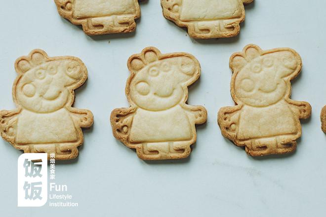 小猪佩奇饼干的做法