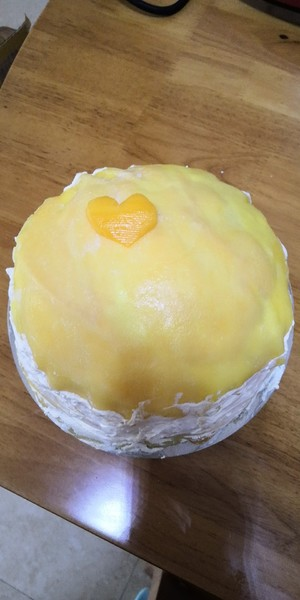 芒果千层蛋糕的做法 步骤5