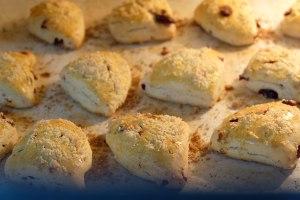 美善品食谱-蔓越莓坚果司康饼的做法 步骤10