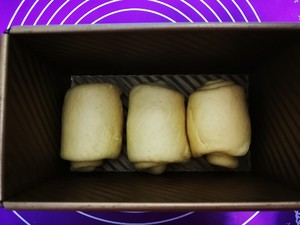超级软奶香吐司面包的做法 步骤8
