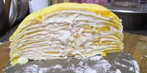 芒果千层蛋糕的做法 步骤6