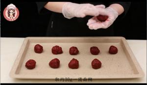红丝绒夹心软曲奇的做法 步骤12