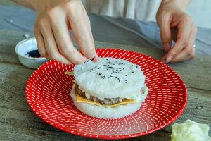 牛肉米汉堡的做法 步骤15