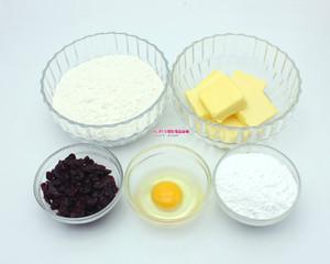 【SUPER烘焙坊】蔓越莓饼干的做法 步骤1