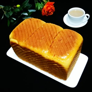 超级软奶香吐司面包的做法 步骤10