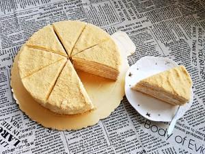 俄罗斯提拉米苏蜂蜜千层蛋糕(原味)的做法 步骤15