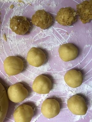 台湾土凤梨酥~酥到掉渣~10L小烤箱的美味的做法 步骤12