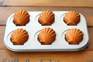 椰子橙香玛德琳的做法 步骤11