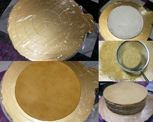 俄罗斯提拉米苏蜂蜜千层蛋糕(原味)的做法 步骤12