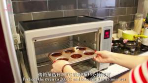 最简单的法式甜品做法——巧克力熔岩蛋糕的做法 步骤11