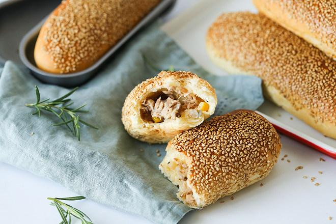 浓香金枪鱼面包的做法