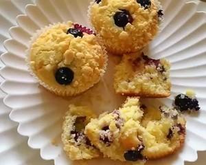 大船长高比克风炉食谱·蓝莓马芬蛋糕的做法 步骤20