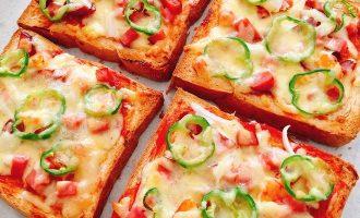 吐司披萨制作方法