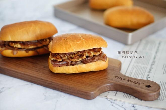 澳门猪扒包&港式奶油猪的做法
