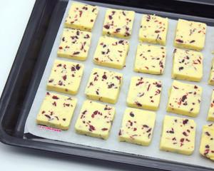蔓越莓饼干 制作方法
