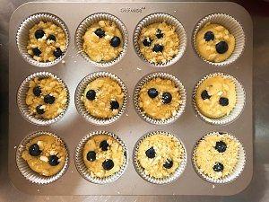 大船长高比克风炉食谱·蓝莓马芬蛋糕的做法 步骤16