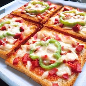 吐司披萨?的做法 步骤3