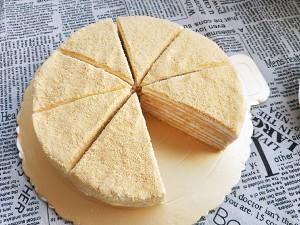 俄罗斯提拉米苏蜂蜜千层蛋糕(原味)的做法 步骤17