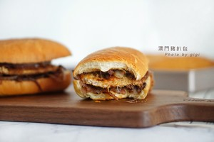 澳门猪扒包&港式奶油猪的做法 步骤13
