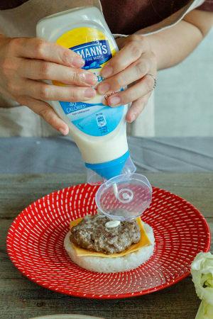 牛肉米汉堡的做法 步骤14