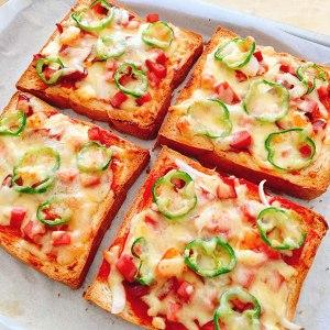 吐司披萨?的做法 步骤4