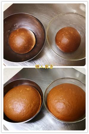 《懒人厨房》可可豆吐司的做法 步骤3