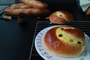 超软乳酪蜜蜜豆软欧的做法 步骤9