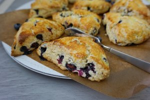 好吃的蓝莓司康的做法 步骤22