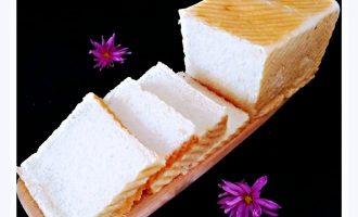 超级软奶香吐司面包制作方法