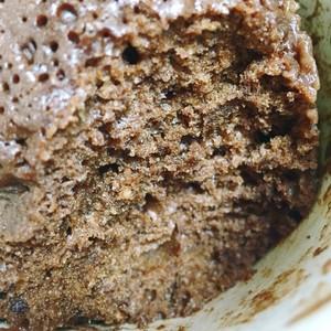 微波炉杯子蛋糕的做法 步骤3