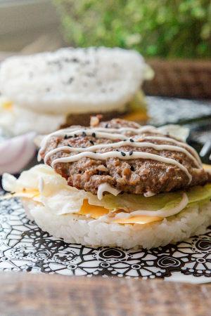 牛肉米汉堡的做法 步骤17