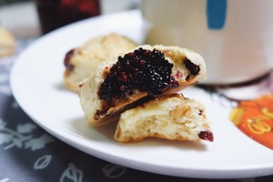 美善品食谱-蔓越莓坚果司康饼的做法 步骤11