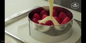 (cooking tree)草莓芝士蛋糕的做法 步骤10