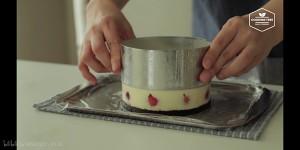(cooking tree)草莓芝士蛋糕的做法 步骤12