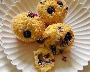 大船长高比克风炉食谱·蓝莓马芬蛋糕的做法 步骤19