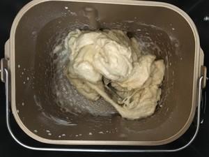 百分百中种牛奶吐司的做法 步骤2