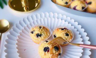蓝莓马芬蛋糕 制作方法