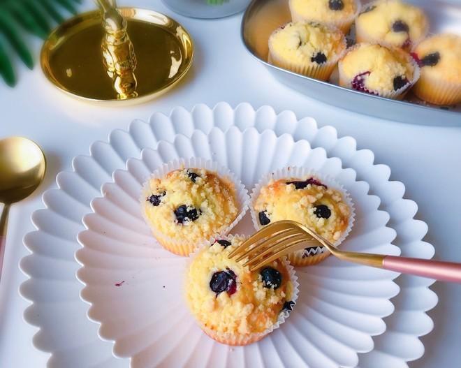 大船长高比克风炉食谱·蓝莓马芬蛋糕的做法