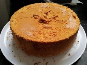 八寸戚风蛋糕的做法 步骤3