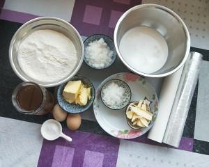 俄罗斯提拉米苏蜂蜜千层蛋糕(原味)的做法 步骤1