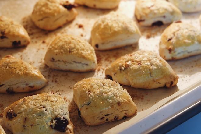 美善品食谱-蔓越莓坚果司康饼的做法