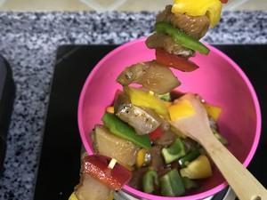 彩椒鸡肉串的做法 步骤10