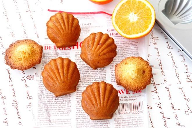 椰子橙香玛德琳的做法