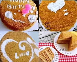俄罗斯提拉米苏蜂蜜千层蛋糕(原味)的做法 步骤21