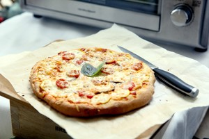 🍕全麦蔬菜披萨的做法 步骤5