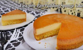 简易布丁海绵分层蛋糕 制作方法
